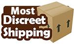 Discreet Shipping & Billing!